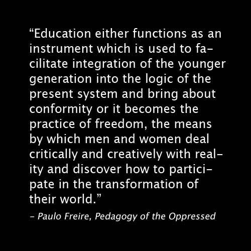 Pedagogy Quote